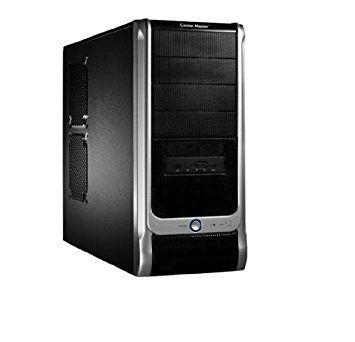Black & Silver Desktop PC